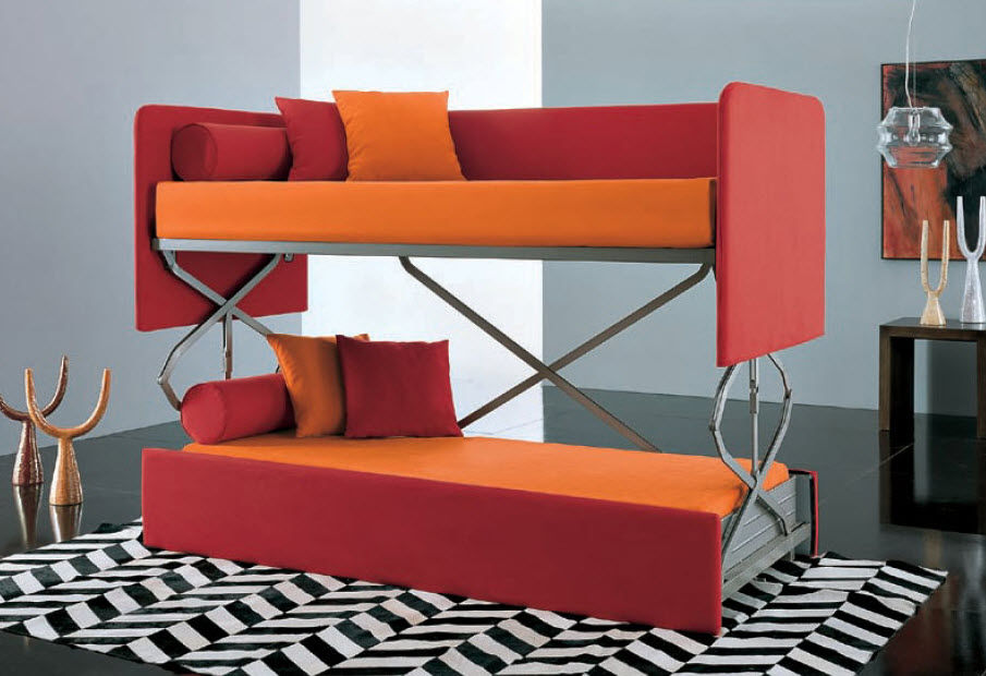 905x620px 6 Amazing Couch That Turns Into Bunk Bed Picture in Furniture