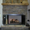 stack stonefp , 7 Nice Stack Stone Fireplaces In Furniture Category