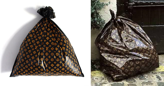Others , 7 Lovely Louis Vuitton Trash Bags : Trash Bag Louis