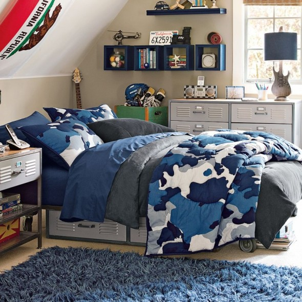 Bedroom , 9 Charming Boys Camouflage Bedroom Ideas : Bedroom Appeal With Camouflage