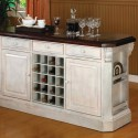 Belle Foret Antique White Finish Kitchen Island , 9 Cool Mainstays Kitchen Island White In Kitchen Category