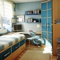 Blue Space Saving Ideas for Small Bedroom , 5 Unique Space Saver Ideas For Small Bedrooms In Bedroom Category