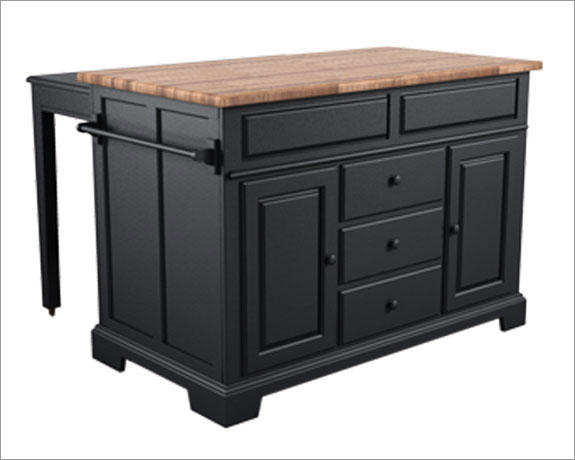 Kitchen , 7 Nice Broyhill Kitchen Islands : Broyhill Color Cuisine Kitchen Island