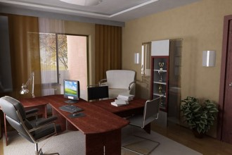 500x500px 7 Charming Modern Home Office Designs Picture in Office