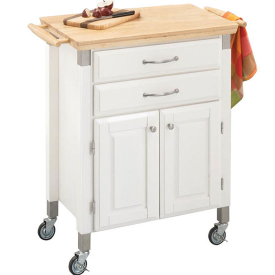 Kitchen , 8 Cool Dolly Madison Kitchen Island Cart : Home Styles Dolly Madison Prep
