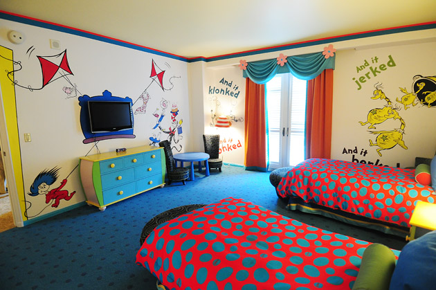 Bedroom , 8 Nice Dr Seuss Bedroom Ideas : Hotel Room Tour