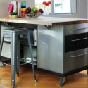 Kitchen Island , 7 Cool Movable Kitchen Islands With Seating In Kitchen Category