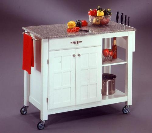 Kitchen , 8 Cool Movable Kitchen Islands : Kitchen Island Designs
