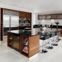 Large Kitchen Island , 4 Cool Huge Kitchen Islands In Kitchen Category