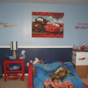 Lightning McQueen and Tow Mater Wall Canvas , 8 Cool Lightning Mcqueen Bedroom Ideas In Bedroom Category