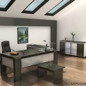 Modern Home Office Furniture , 5 Fabulous Modern Home Office Design In Furniture Category