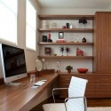 Modern custom home office , 7 Charming Modern Home Office Designs In Office Category