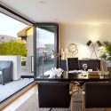 Modern four storey , 7 Charming Modern Home Office Designs In Office Category