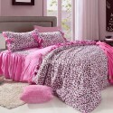 Pink Leopard Print bedding , 10 Unique Cheetah Print Bedroom Ideas In Bedroom Category