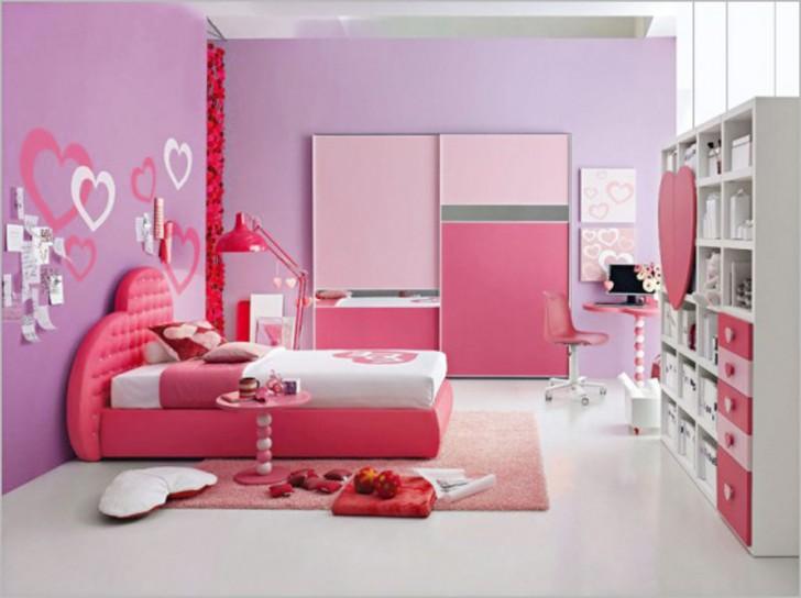 Bedroom , 10 Good Ideas For Tween Girls Bedrooms : Pink Purple Tween Teen Girls Room