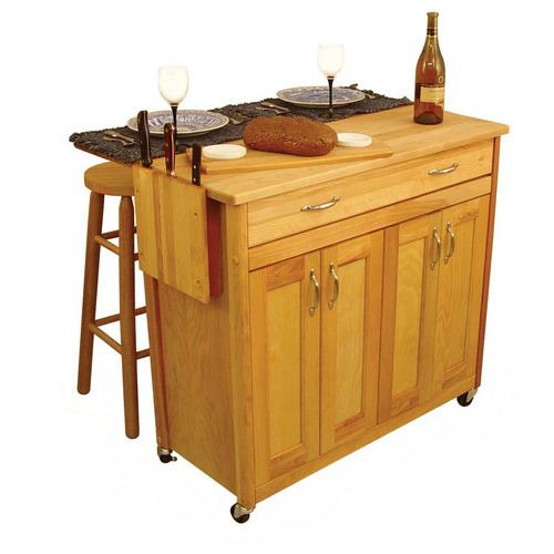 Kitchen , 10 Best Portable Kitchen Islands With Breakfast Bar : Portable Kitchen Islands 8
