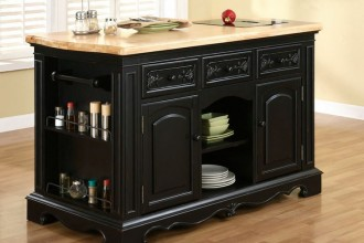 736x583px 4 Nice Powell Pennfield Kitchen Island Picture in Kitchen