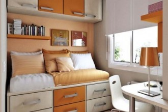 408x510px 5 Unique Space Saver Ideas For Small Bedrooms Picture in Bedroom