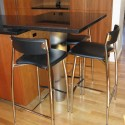 Tabletop with stainless steel leg , 6 Good Kitchen Island Legs Unfinished In Kitchen Category