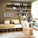 Teen Bedroom Designs , 5 Unique Space Saver Ideas For Small Bedrooms In Bedroom Category