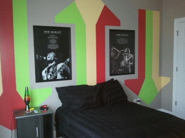 Bedroom , 8 Nice Rasta Bedroom Ideas : Teen Bedroom