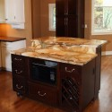 Transitional Kitchen , 9 Fabulous Marble Topped Kitchen Island In Kitchen Category