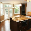 Transitional Kitchen with Marble Top Island , 9 Fabulous Marble Topped Kitchen Island In Kitchen Category