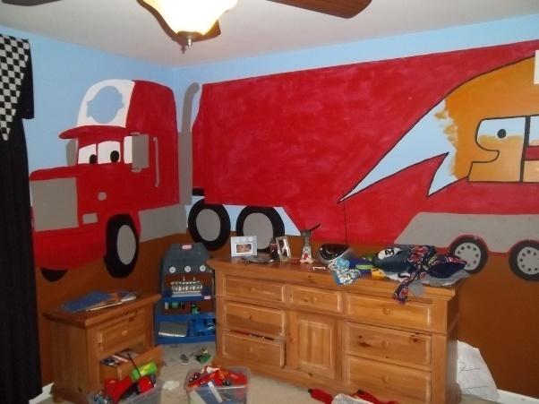 Bedroom , 8 Cool Lightning Mcqueen Bedroom Ideas : Bedroom Designs