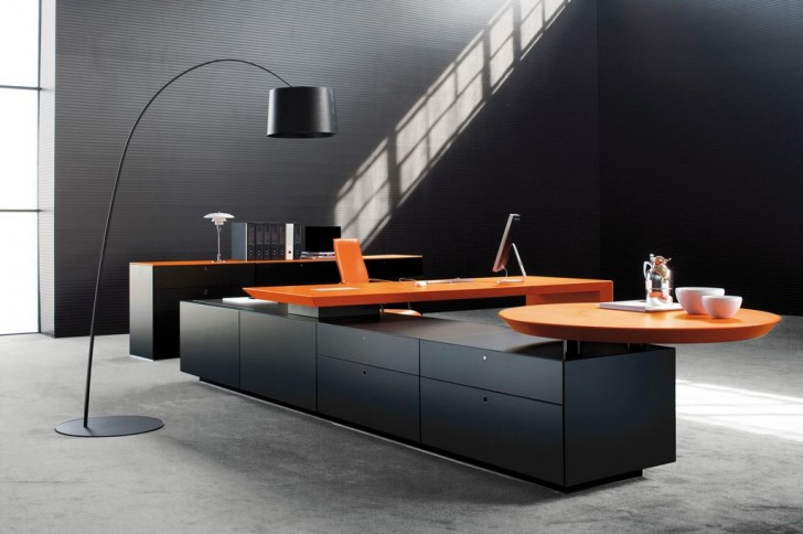 Office , 9 Nice Office Furniture Modern Design : contemporary office furniture design