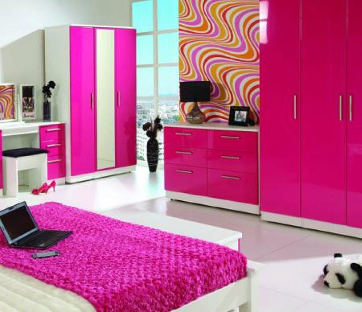 Hot pink bedroom 8 wonderful fuschia bedroom ideas - Hot pink room ideas ...