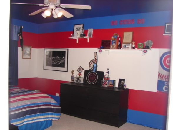 Kids bedroom 10 nice chicago cubs bedroom ideas for Rooms for kids chicago