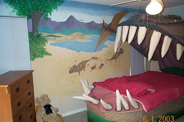 Bedroom , 6 Unique Boys Dinosaur Bedroom Ideas : mens bedroom designs