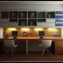 modern home office design , 6 Good Modern Home Office Design Ideas In Office Category