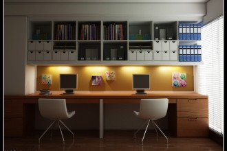 1060x800px 6 Good Modern Home Office Design Ideas Picture in Office