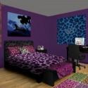 red bedroom , 10 Unique Cheetah Print Bedroom Ideas In Bedroom Category