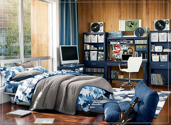 Bedroom , 8 Cool Ideas Decorating Teenager Boys Bedroom : teen boys bedroom