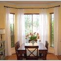 Bay Window Curtains , 7 Good Valance Ideas For Bay Windows In Furniture Category