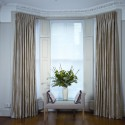 Furniture , 7 Good Valance Ideas For Bay Windows : Bay Windows