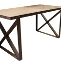 Chicago Industrial Dining Table , 6 Stunning Reclaimed Wood Dining Table Chicago In Furniture Category