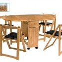 Dining Table And Chairs , 7 Awesome Collapsible Dining Table And Chairs In Furniture Category