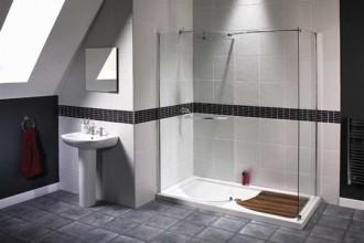 542x458px 9 Unique Doorless Shower Design Ideas Picture in Bathroom