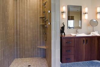 600x662px 7 Excellent Doorless Shower Design Picture in Bathroom