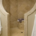 Dual Shower Heads , 6 Wonderful Doorless Walk In Shower Designs In Bathroom Category