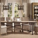 Flatiron Dining Tables , 8 Lovely Restoration Hardware Flatiron Dining Table In Furniture Category