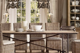 605x590px 8 Lovely Restoration Hardware Flatiron Dining Table Picture in Furniture