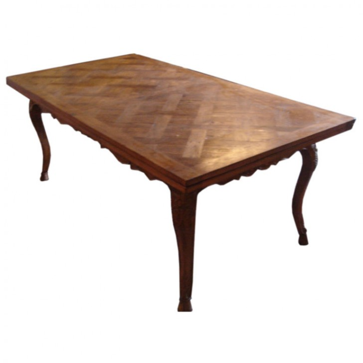 Furniture , 8 Fabulous Dining Table Extenders : French Refractory Extender Dining Table