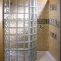 Glass block showers , 8 Charming Doorless Shower Designs In Bathroom Category