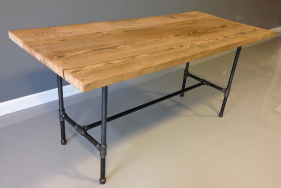 Furniture , 6 Stunning Reclaimed Wood Dining Table Chicago : Reclaimed Wood Dining Table