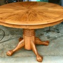 Round Dining Room Table , 5 Cool Dining Room Tables With Leafs In Furniture Category
