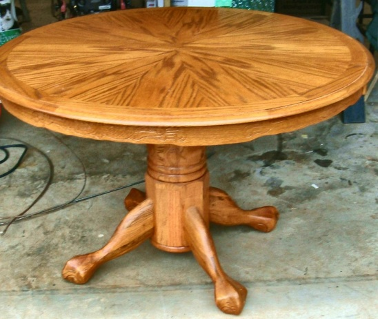 Furniture , 5 Cool Dining Room Tables With Leafs : Round Dining Room Table